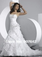 Free Shipping Newest Lace Sweetheart Princess Embroidery Sexy Wedding Dress,Bridal Wedding Dress,Wedding Gown Sky100