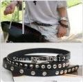 Free Shipping!Han edition liu Nails Slender Waist Belt