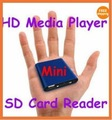free shipping for MINI 1080P Full HD Media USB HDD player With SD/MMC card reader HOST OTG -Sample,