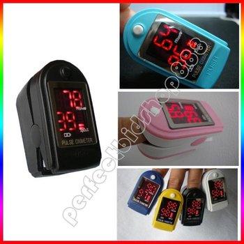 Black color Finger Fingertip Pulse Oximeter,SPO2 Monitor, Oximetry for adult