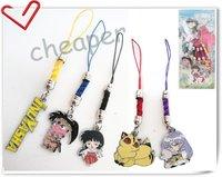 5 * Inuyasha Phone chain,Inuyasha Phone strap ,Inuyasha Group Phone charm in Box