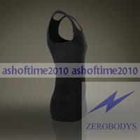 WHOLESALE New ZEROBODYS Slimming Mens Body Shaper Vest or shirt