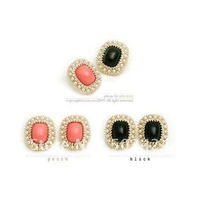 Free shipping+20pairs/lot+whole sale+HOT Picks agate pearl fashion earring ear nail