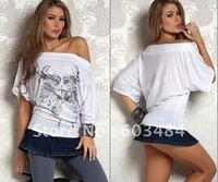 High quality! sexy t shirt,fashion t-shirt,white tees,one size,DL25031
