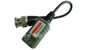 CCTV  video transceiver  BNC  and UTP video balun and free shipping