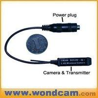 Micro 2.4GHz Wireless Surveillance Camera with 2.4GHz Receiver