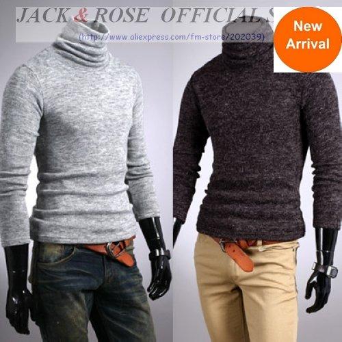 Sweater High Collar /high Collar Sweater