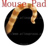 2011 Exciting product/Cat's tail Mouse Pad/Creative Product/Special gift for your mouse,Free & Fast Shipping.