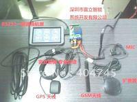AVL / FMS  GPS/GPRS Tracking system device via RS232*2  windows CE displayer,Monitor