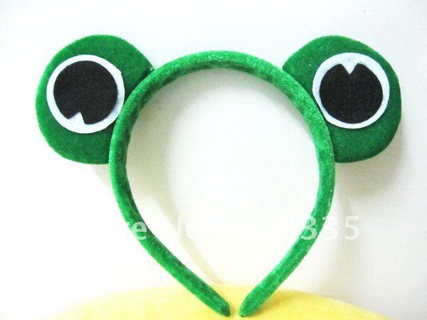 Глаза лягушки на ободке своими руками 51