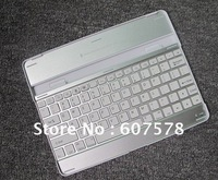 Bluetooth Wireless Aluminum Keyboard Case WHITE