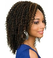 Popular africa curel 100% indian real hair full lace wig for black woman