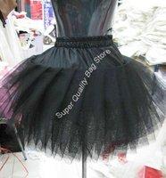 Free Shipping,2011 New Arrivals Ball Gown Petticoat,Black Short Three Layers Ballerina Skirt Petticoat,Wedding Accessories