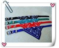 Christmas gift Hot sale Free shipping Pet collar Promo New Arrvial Pet dog bandana cool dog star dog collar