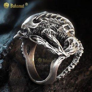 Alien vs Predator AVP Hibernation Alien rings #10 Plated Silver Free Shipping  Wholesale
