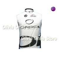 2011 orbea white and blue dots Only Sleeveless Cycling Jersey,cycling wear S~XXXL