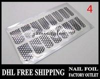 DHL Free Shipping wholesale nail art supply nail foils, NEW Nail Fashion Film Nail Patch Art Produc