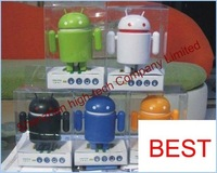 Free shipping,10pcs/Lot loud voice android robot mini speaker