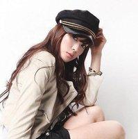 Fashion Jazz hat ,cortex bongrace , black ,Free shipping