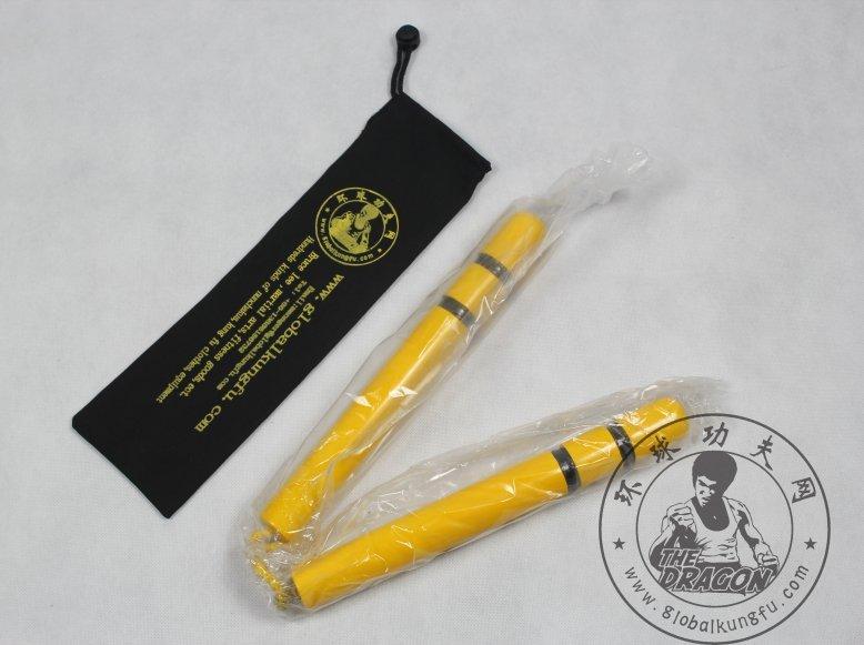 Bruce Lee Yellow Nunchaku