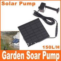 Soar Pool Water Pump Garden Plants Watering Kit Solar Power Fountain Soar Pump/Water Pump, Free Shipping+Drop Shipping
