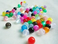 Free shipping , wholesale 1000pcs Colourful plastic beads , acrylic beads 6mm, spacer beads , hot selling