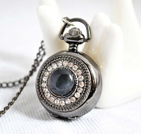 Minimum order 50 USD : Hot sales stone & diamond pocket watch / necklace jewelry gift accessories A1-22