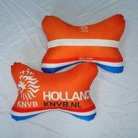 wholesale Netherlands orange  car pillow / seling headrest