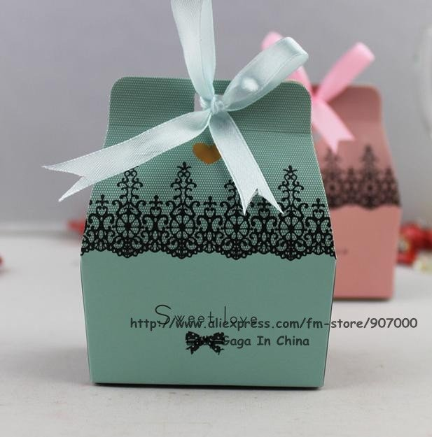 37 31 18 Sweet love wedding favor boxespaper candy boxes