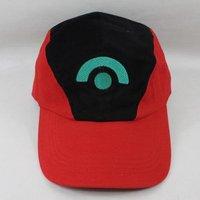 free shipping Pokemon cap Ash Diamond Pearl Hat Costume Hat Cap New Best Gift Baseball cap 2pcs/lot