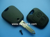 Citroen 206 2 buttons remote key shell key blank key cover key case blank key NO LOGO