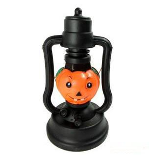 Free shipping 3 pcs/lot wholesale halloween items halloween pumpkin light ghost light party costume masquerade supplies to you(China (Mainland))