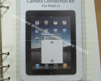 USB 2.0 female adapter adaptor Connection Kit for ipad ipad2 2 in retail packing ,free shipping
