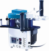 09 version manual edge bander,  Portable edge banding machine speed control model singal unit with high quality