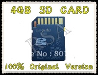 Free shipping,NEW original version 4GB CAPACITY SDHC SD CARD FLASH MEMORY CARD