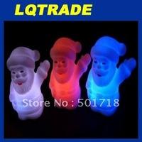 2011 Christmas Gift/Electronic candle / LED Candle Light /  Santa Claus Night Light