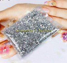Super brilho Nail Art pedra 20000 pcs Glitters pedrinhas 2 mm unhas decoração para unhas acessórios Desgin 218