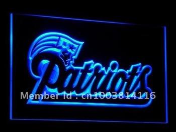 b071-b New England Patriots Soccer Neon Light Sign