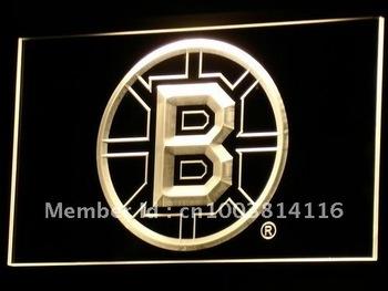 b078-y Bruins Bar Neon Light Signs