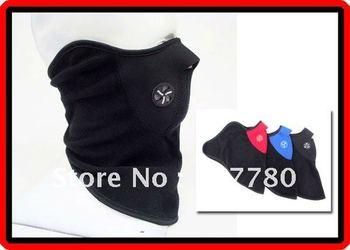 Free Shipping 10 pcs / lot Sports Motorcycle Ski Neck Warm Face Mask Veil Bike Mask 3 Colours Available (MBBG040a-MBBG040c) !!