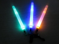 Free Shipping 100pcs/lot LED glow stick whistle flashlight flasher flashing stick led stick flash wand light stick for party
