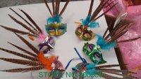 free shipping wholesale 20pcs wedding mask feathers masquerade party mark