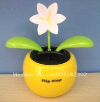 solar powered dancing flower toy  60pcs per lot Free shipping via EMS and China post air parcel
