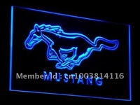 d054-b Ford Mustang Neon Light Sign
