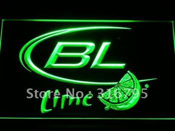 a214-g Bud Light Lime Beer Neon Light Sign