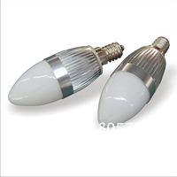 3W CREE LED Candle Light 100-240V AC E14