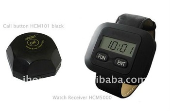 Guest to server system, customized 3 systems, each consist of 3 button and 2 watches