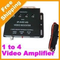 Car 1 to 4 Video Signal Amplifier/Booster DVD/LCD/TV(FD-VSP-1004)