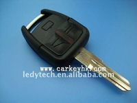 High quality Opel 3 buttons remote key shell with right blade