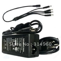 4 Port 12V 3A DC Adapter Power Supply for CCTV Cameras Free Shipping
